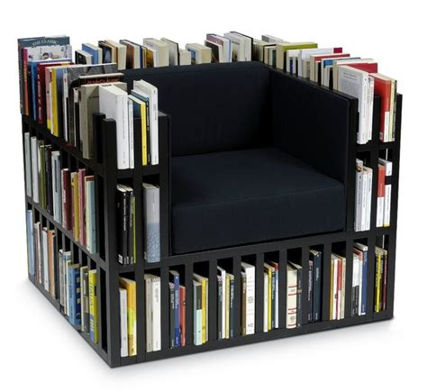 Bookshelf Chair by Book Storage The Tiny