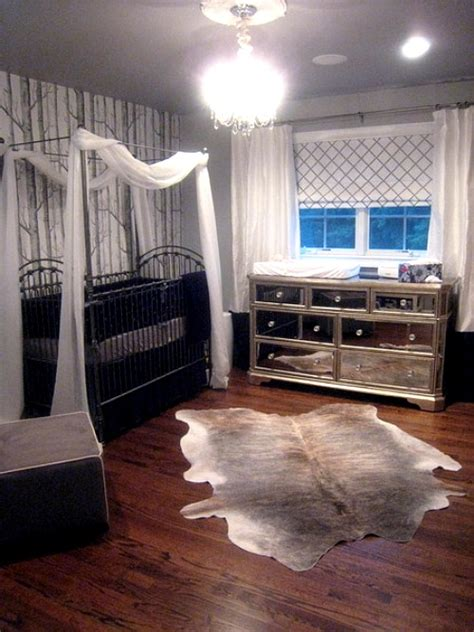 Cowhide Rug Nursery Animal Hide Rugs In The Nursery