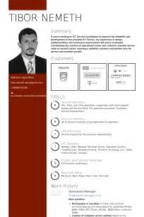 operations manager resume samples visualcv resume