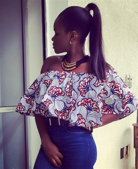 Find your wax printed off shoulder top