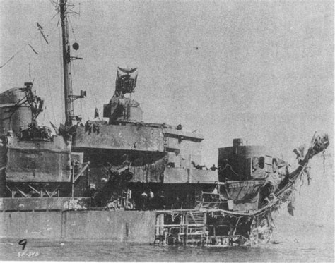 u boat losses by cause destroyer report gunfire bomb and kamikaze damage