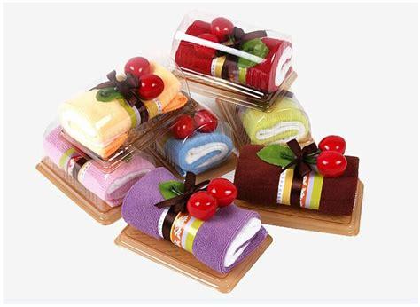 Souvenir Towel Roll Cake 1 creative swiss roll towel cake towel mini towel