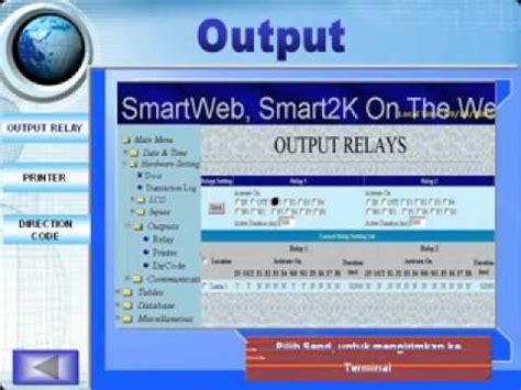 Mesin Absensi Smart2k mesin absensi sidik jari time attendance system smart2k