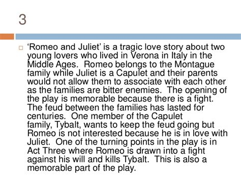romeo and juliet theme development writing the introductory paragraph