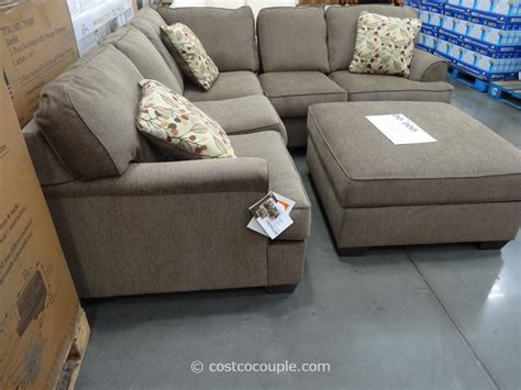 sectional couch with ottoman berkline jaxelle fabric sectional and ottoman