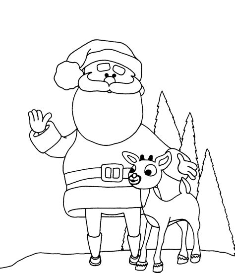 printable coloring pages santa free printable santa claus coloring pages for kids