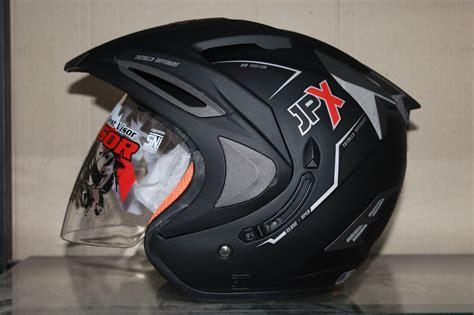Helm Jpx Supreme jual helm jpx supreme hitam doff prasetyo helmet