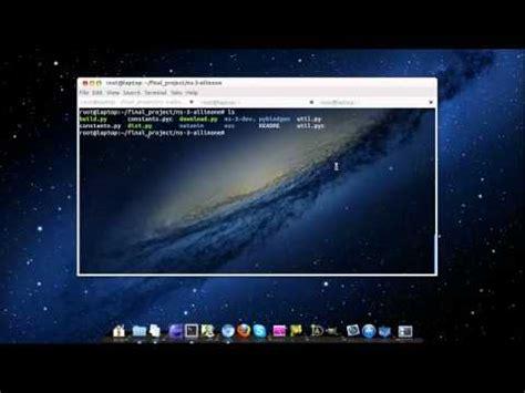 tutorial ns3 ubuntu comment installer ns3 sous ubuntu la r 233 ponse est sur