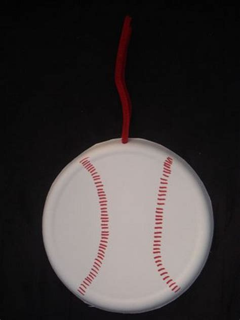 sports crafts for preschool crafts for easy baseball paper plate