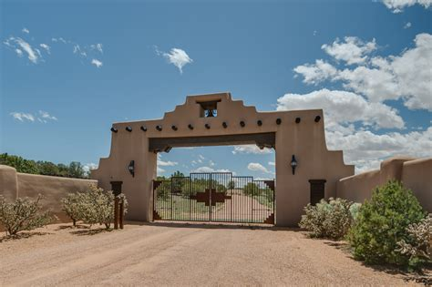 Ranch Style Homes santa fe new mexico ranch home for sale architectural digest