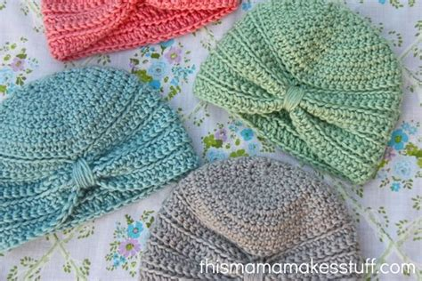 turban crochet tutorial chic and cozy these baby crochet hats are simply adorable