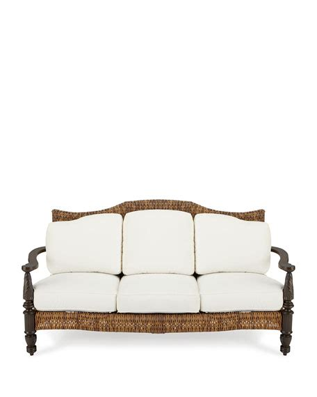 plantation sofa royal plantation outdoor loveseat sofa