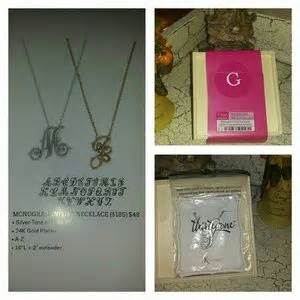 Kbc Gift Letter Monogram Initial Jewelry On Poshmark