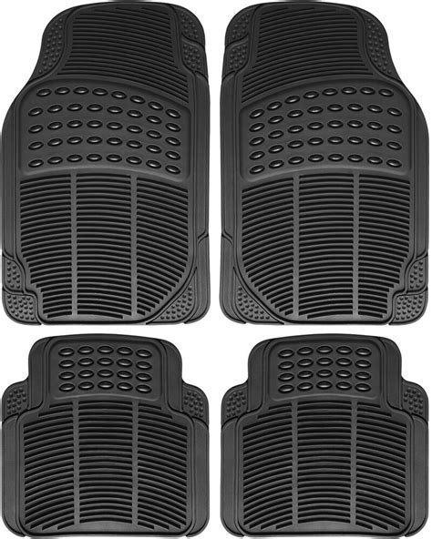 rubber truck mat truck floor mats for toyota tacoma 4pc set all weather