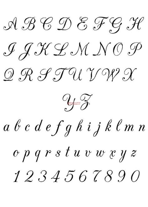 tattoo fonts plain free fonts calligraphy free 3504
