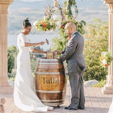 Wedding Box Tradition by Wine Box Ceremony Tradition A Sentimental Touch For