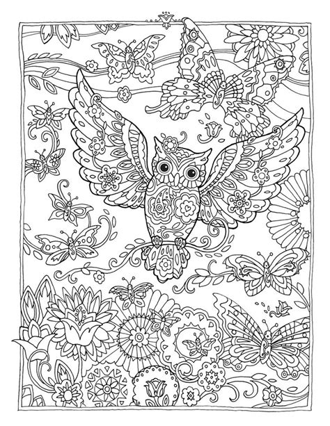wonderful owls coloring book for adults and stress reduction combining nature poetry and for relaxation meditation and creativity volume 2 books 1000 ideen zu eulen ausmalbilder auf