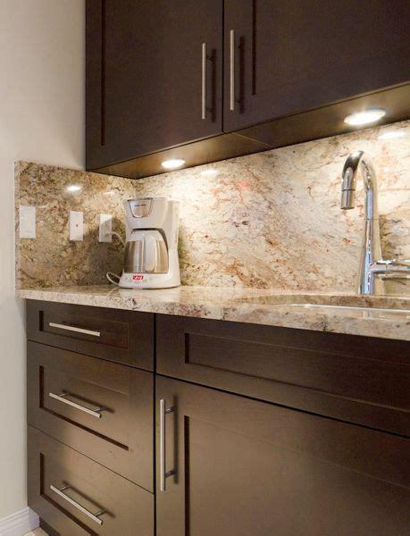 cherry wood :: coffee station #kitchen #cabinets #coffee