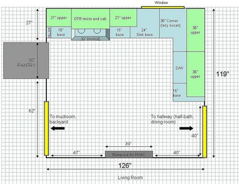 Kitchen Layout Square Square Kitchen Layout Decorating Ideas