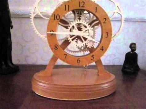 build wooden gear clock plans uk diy toy box plans