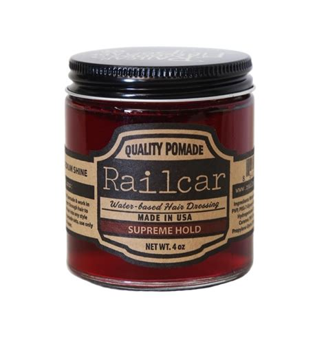 Pomade Railcar railcar pomade supreme hold hair styling