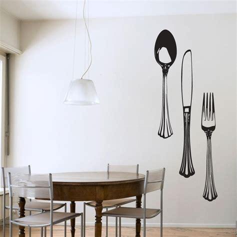 Wallsticker Classic Kitchen Tools Sk31004 20 ideas of oversized cutlery wall wall ideas