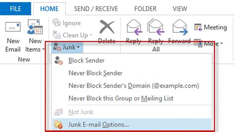 using outlook's junk mail filter slipstick systems