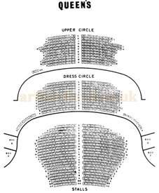Lyric Theatre Floor Plan the queen s theatre shaftesbury avenue london w 1