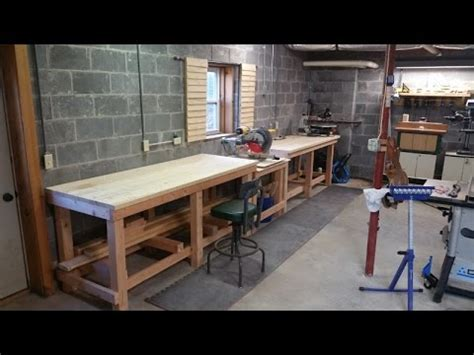 professional work bench how to build a professional style workbench youtube