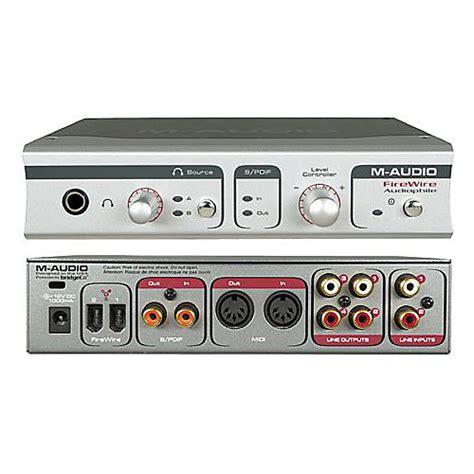 Firewire Speakers by Firewire Audiophile M Audio Firewire Audiophile