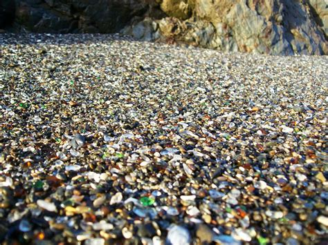 beach of glass nature laughs last at glass beach 38 pics