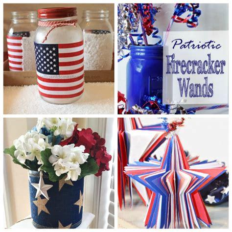 Patriotic Decor by July 4th Decoration Ideas White Blue Patriotic Decor