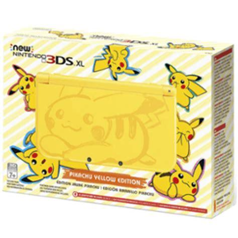 Paling Murah New 3ds Xl Pikachu Yellow Cfw Permanen 64gb buy modded new 3ds xl pikachu yellow pokedit
