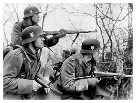 world war ii croatian other forces croatian legion in action