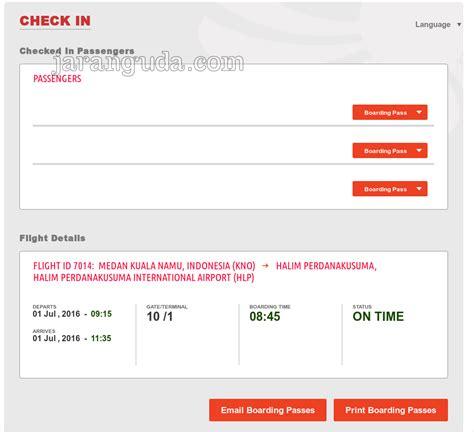 batik air check in online cara web check in batik air 171 jaranguda com