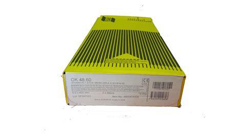 Paket Size3 esab ok48 60 7018 low hydrogen electrodes gasweld