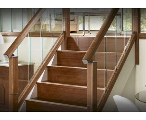richard burbidge banisters immix timber glass and gun metal domestic balustrade