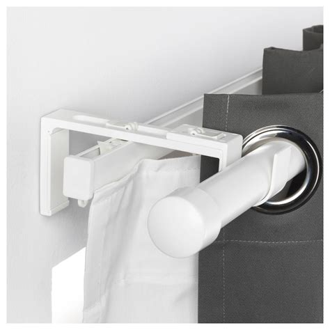 vidga ikea vidga curtain rod holder white ikea