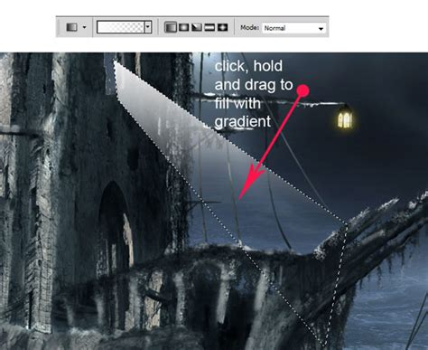 photo manipulate a mysterious ghost ship in photoshop psdfan