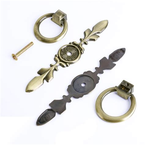 Antique Drawer Pulls Knobs by Vintage Chic Metal Drawer Pulls Antique Brass Door