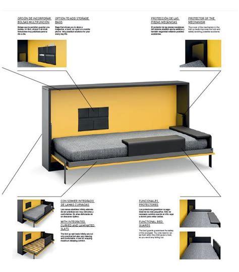 habitaciones juveniles camas abatibles cama abatible juvenil modelo infinity 25 de jjp