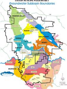 eastern district of california map water supply eastern municipal water district