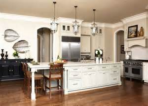 Long Kitchen Islands 30 Kitchen Islands With Tables A Simple But Very Clever Combo