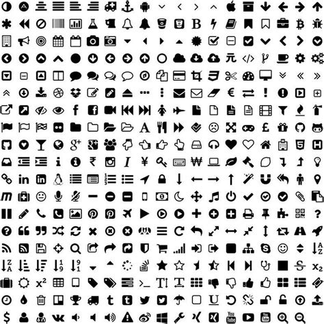 design icon in font awesome font awesome icons starter materials pinterest fonts