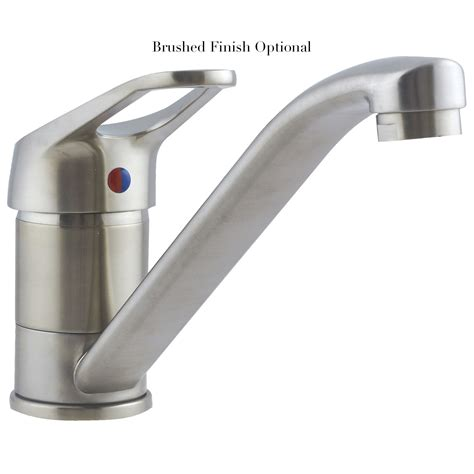 monobloc mixer taps kitchen sink astracast finesse monobloc single lever kitchen sink mixer