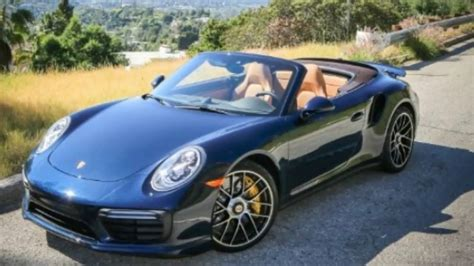 porsche 911 convertible 2018 2018 porsche 911 turbo s cabriolet review
