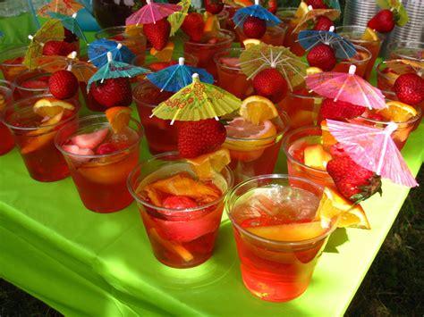 food ideas for tropical wedding shower 2 sangria or any of umbrella drink hawaiian bridal