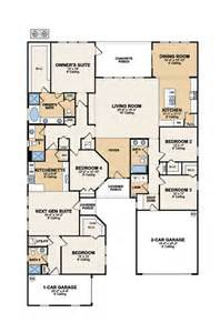 Home Within A Home Floor Plans by Next Gen Genesis The Home Within A Home Main Home 3 Bed