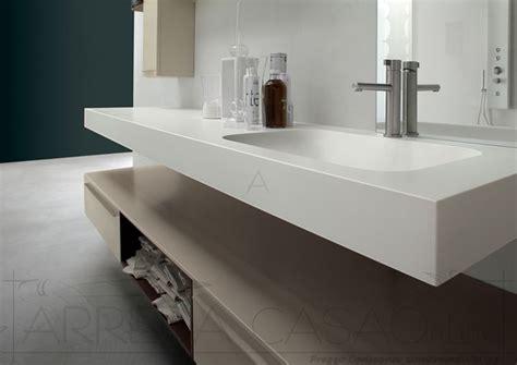 top mobile bagno mobile bagno top sospeso lavabo integrato polck28 prezzo