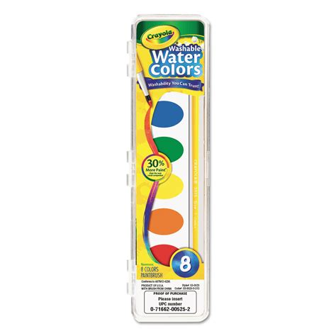 washable watercolor paint by crayola 174 cyo530525 ontimesupplies